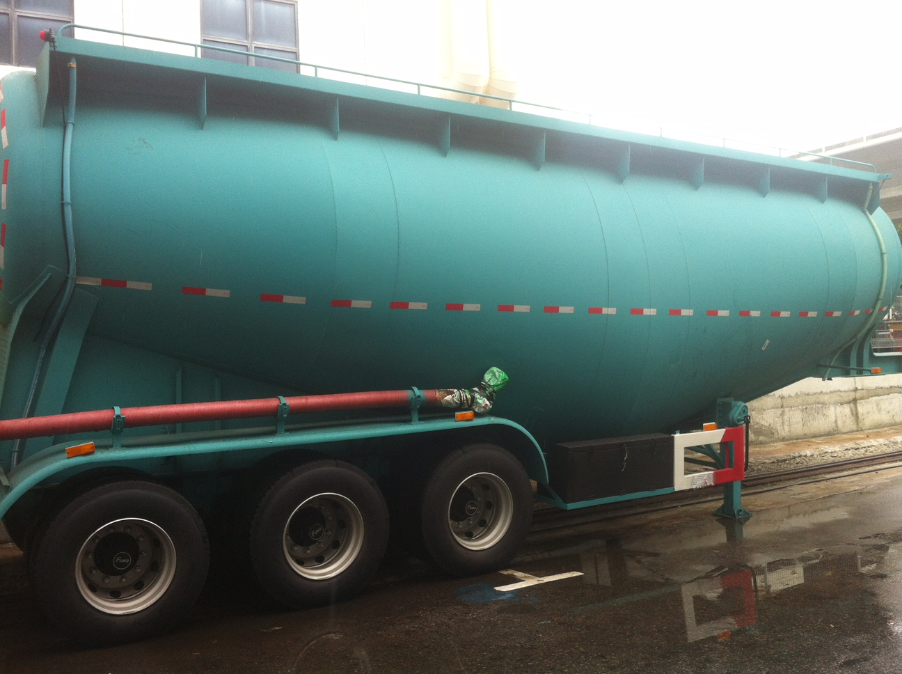 Cement Tanker full